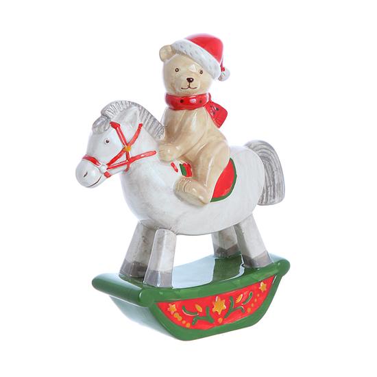 Мишка на лошадке 1612003RW