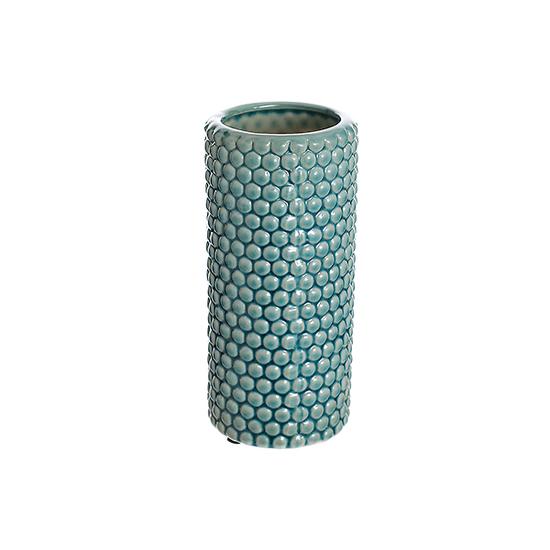 Ваза керамическая голубая роза (20см) 33G-3 гол