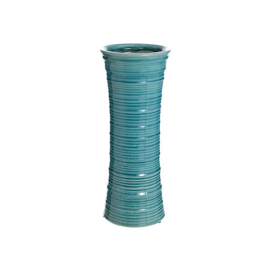 Ваза керамическая голубая роза (30см) 44G-2