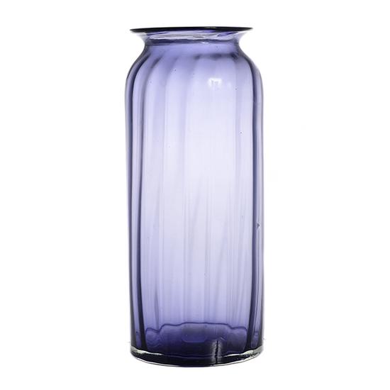 Ваза стеклянная фиолетовая большая A2-фиол