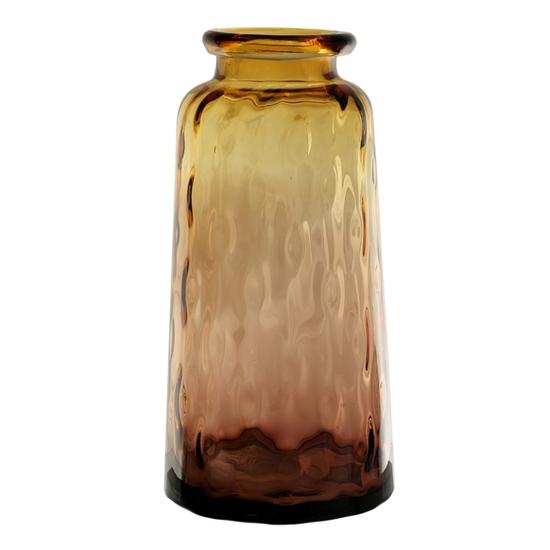Ваза стеклянная (ручная работа) H39 MaxØ 19 см DG23-0003