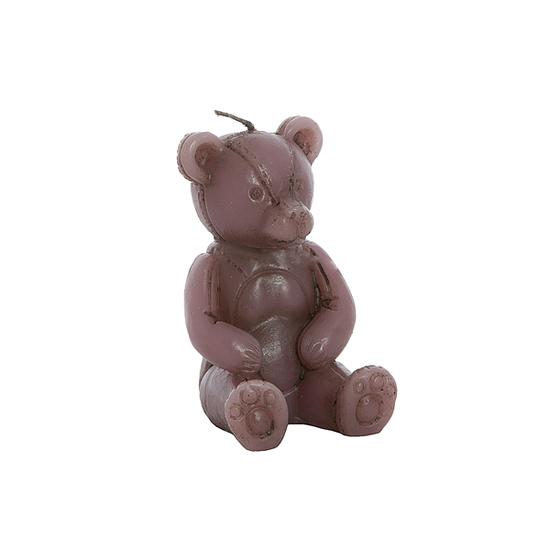 Свечка мишка розовый 7х6х10 см F101427AP