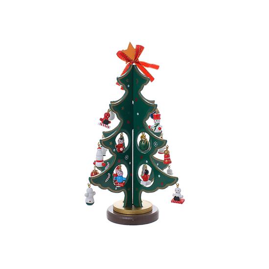 Елочка декор маленькая (дерево) M802E/G