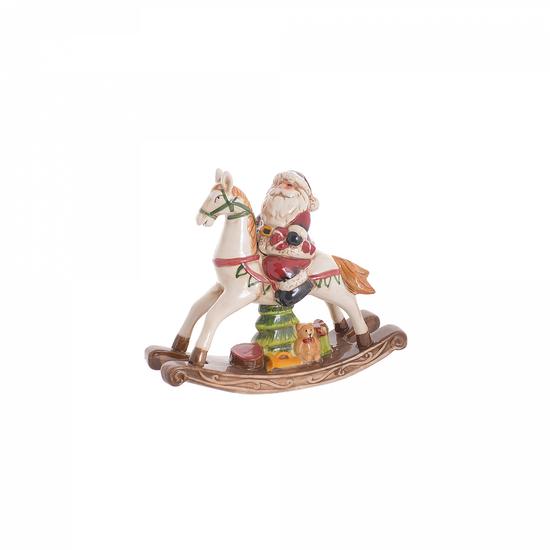 Дед мороз на лошадке 23х7х20 NX116445-1