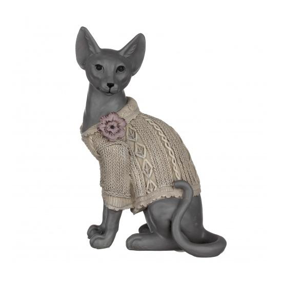 Статуэтка кошка сфинкс 11,5х6,5х16 QJ99-0056