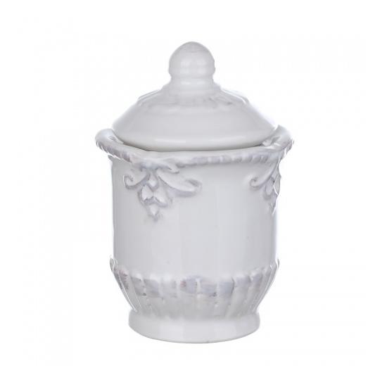 Сахарница с крышкой из грубой керамики DB08-0002