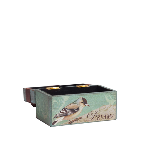 Декоративная коробка с бархатной лентой Tiffany DG-D-822A