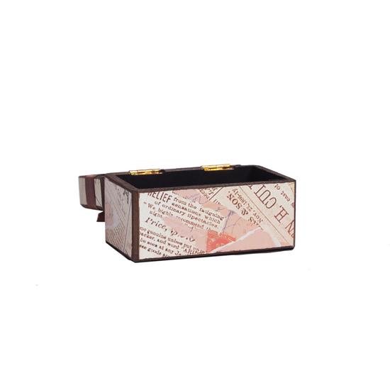 Декоративная коробка с бархатной лентой Paluvras DG-D-822B
