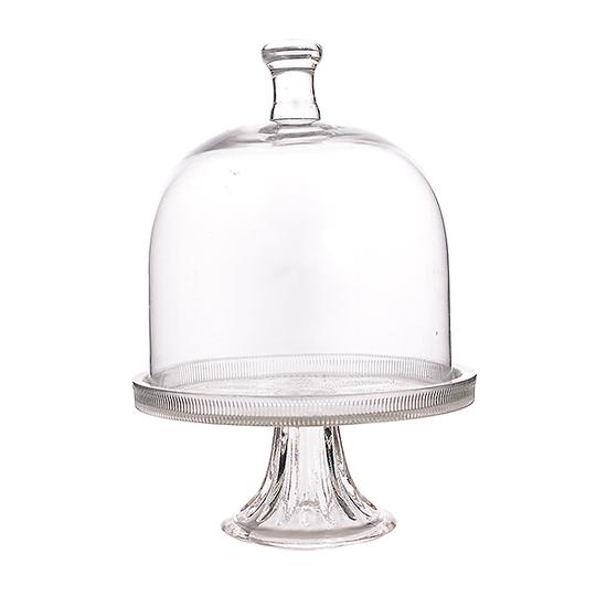 Тортница стеклянная (20х20х30) JPTH198-M