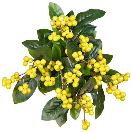 Куст с желтыми ягодами 40 см RBF1004