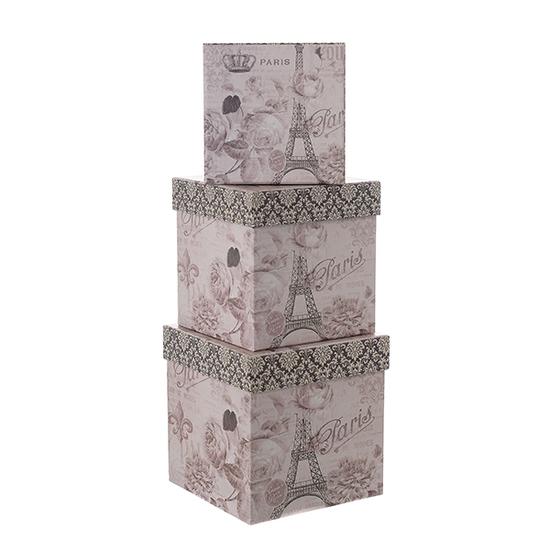 Набор коробок PARIS из 3 шт. W8966
