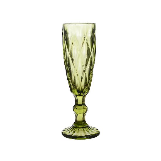Бокал зеленый Бриллиант (набор 6шт)