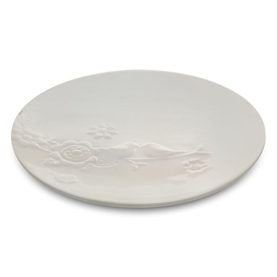 Тарелка S (отгружается по 4 шт.) 22*22*2 см DE08-0001