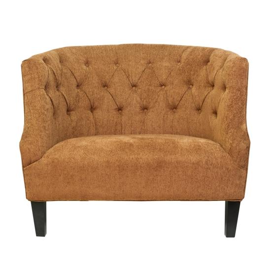 Широкое кресло Solio orange KY-3340-O