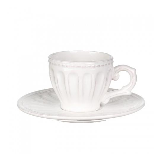 Чашка с блюдцем 16х16х8 (6 шт) MC08-0010