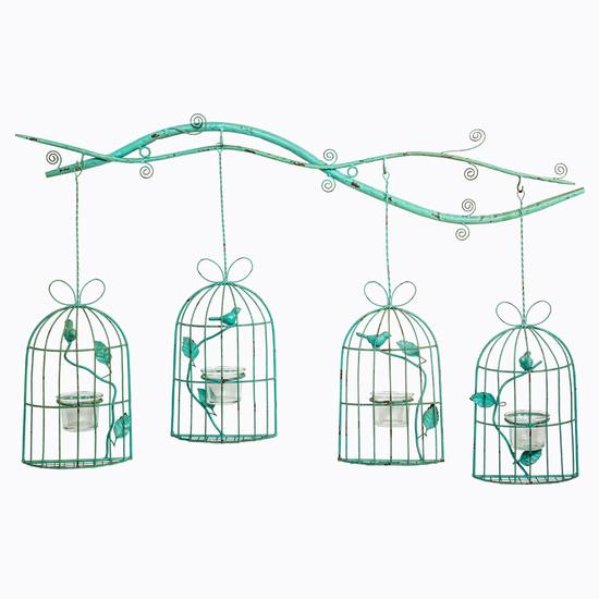 Панно-подсвечник «Птичий квартет» 5086885