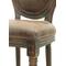 Кожаный стул Volker antique