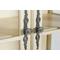 Витрина двухстворчатая стеклянная (высокая) ST6318 Leontina