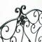 Металлическая скамья «Тюильри» (черный антик)