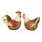 Статуэтка (набор ) петух и курица 17х8х15/14х8х13 US99-0007