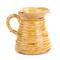 Кувшин жёлтый с Королевской лилией 20х25 см LY12F322-1F