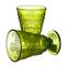 Бокал для вина яркий светло-зеленый Королевский