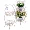 Цветочная подставка Белый ажур PL08-5838