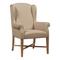Кресло French Wing Chair Кремовый Лен DG-F-ACH483