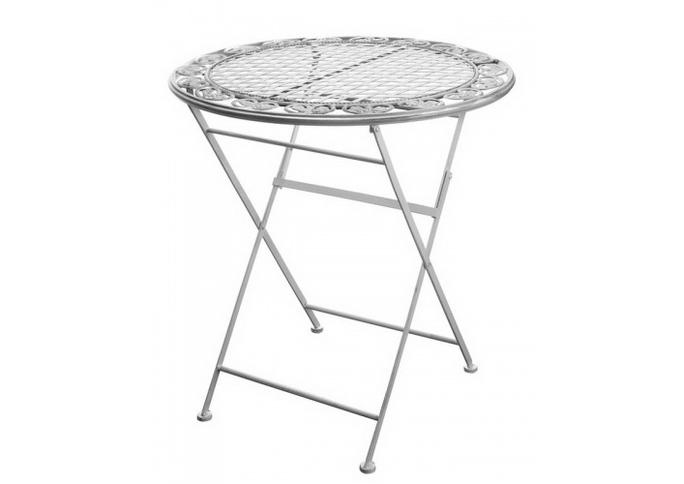 Стол с кованым узором 70х70х76 PL08-7609
