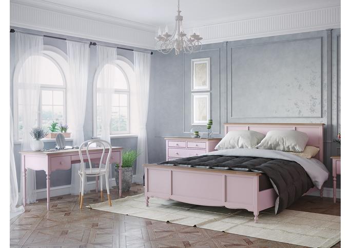 Кровать двуспальная 160*200 Leblanc, лаванда