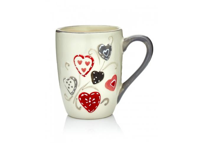 """Чашка """"Сердца"""" (набор 6 шт)"""