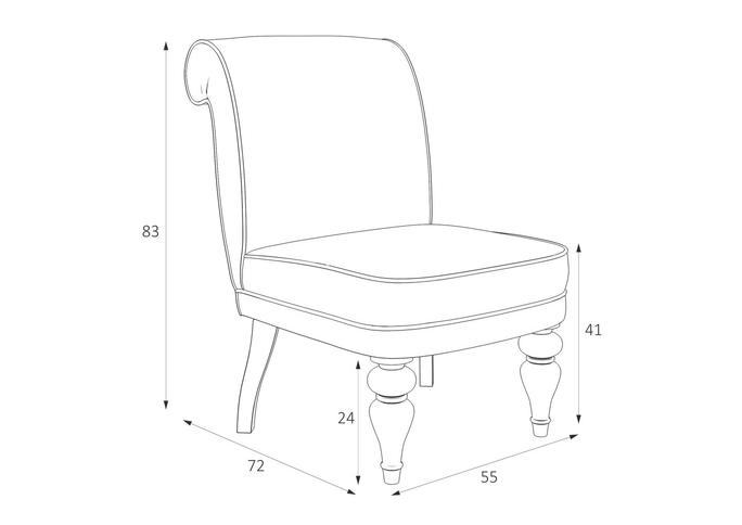 Кресло Лира M16-W-0362