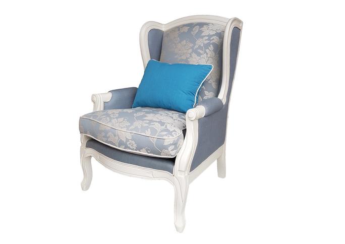 Кресло White Rose, DF830 Blue Linen (M01)