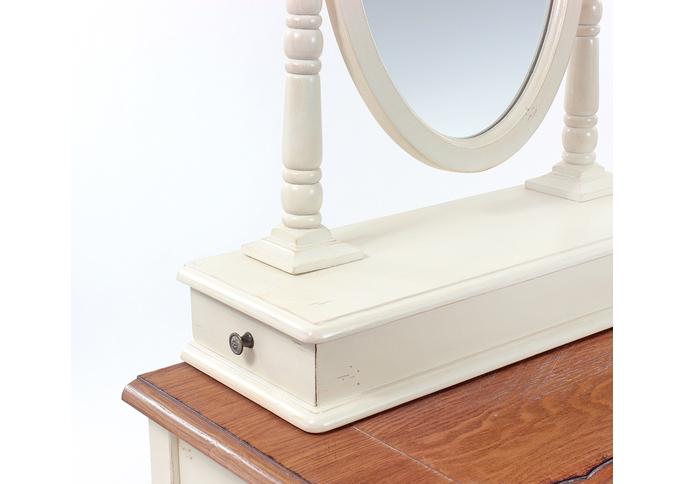 Макияжный столик с овальным зеркалом ST9321