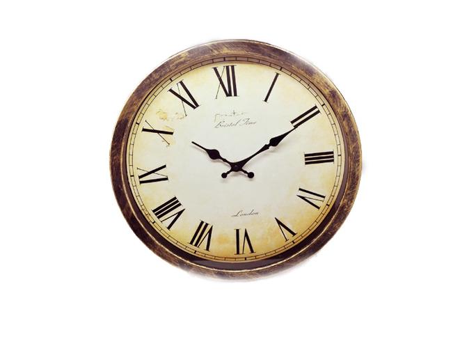 Часы настенные с римскими цифрами (40см) AP002
