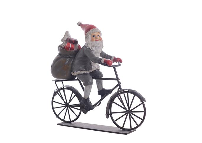 Дед мороз на велосипеде 1314425
