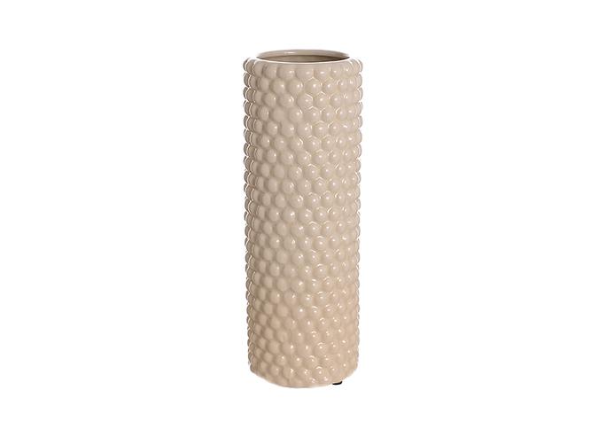 Ваза керамическая бежевая роза (28см) 33G-2 беж