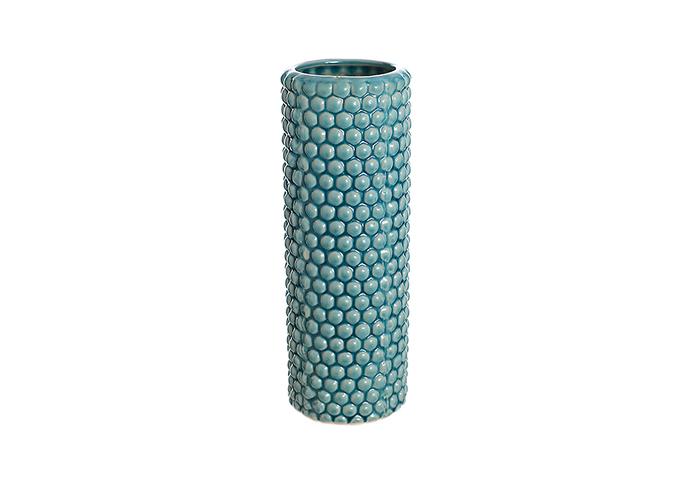 Ваза керамическая голубая роза (28см) 33G-2 гол