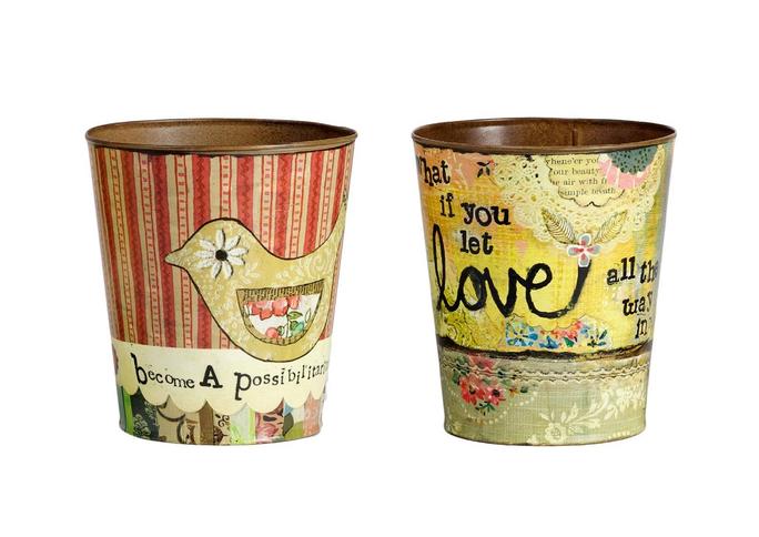 Набор декоративных горшков для цветов Enfance DG-D-578A