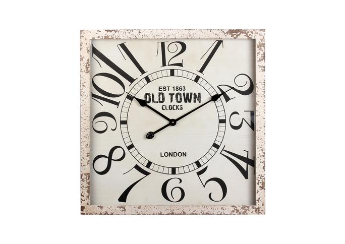 Часы настенные 60*60*5 см EW08-0004