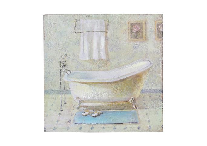 Панно ванная в кафеле 25х25 FR0482