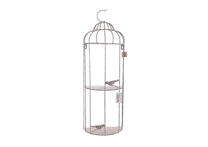 Полочка - клетка с птичкой JKEK3143