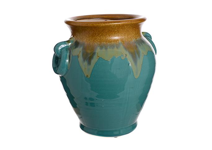 Ваза керамическая Голубой огонек (26см) L02-1