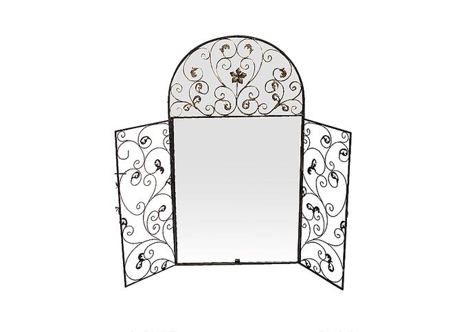 Зеркало декор ставни LC82014