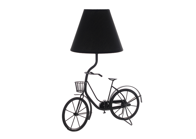 Настольная лампа металлическая Велосипед TL6606