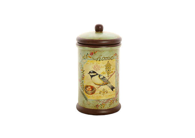 Банка для сыпучих Поющая птичка (глина) H16291-02614-10