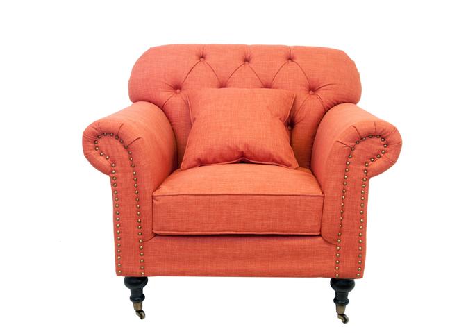 Кресло Kavita orange DF-1819-O