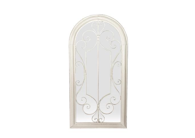 Зеркало - окно Белый ажур PL08-34270