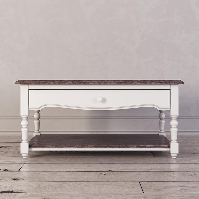 Журнальный столик Leblanc, белый