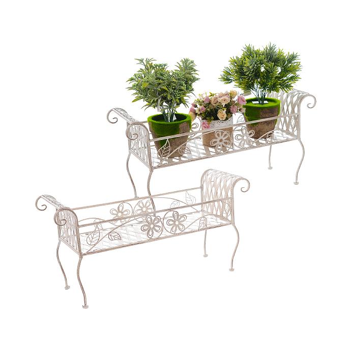 Набор цветочных подставок Белый ажур PL08-5081